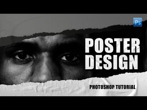 Adobe Photoshop - Sports Poster Design Tutorial