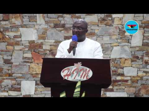 Harvest Chapel International provides employment for hundreds of people in Ghana – Bawumia
