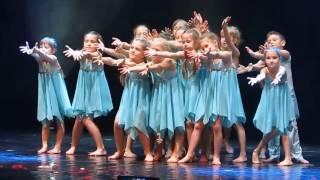 Студия танца 'Тандем'. Детский танец 'Сон'. Группа 'Искры'.