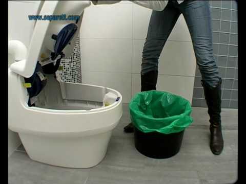 toilettes su doise toilettes sans eau youtube. Black Bedroom Furniture Sets. Home Design Ideas