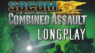 PS2 Longplay [015] - SOCOM: U.S. Navy SEALs: Combined Assault - Full Walkthrough | No commentary
