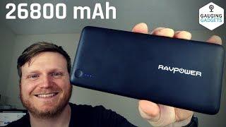 rAVPower 26800mAh Power Bank Review