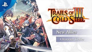 The Legend of Heroes: Trails of Cold Steel III - New Allies | PS4