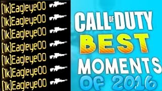 My Best Cod Clips of 2016 Montage!