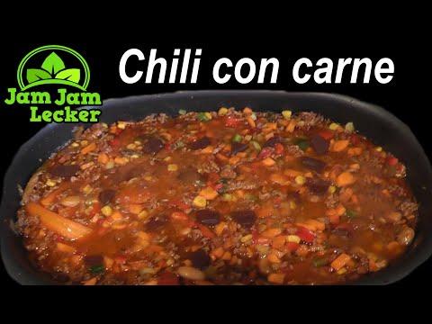 Chili con carne mit Hackfleisch * Rezept zum selber kochen * gelingt immer
