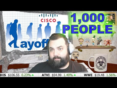 CISCO IS TO LAYOFF OVER 1,000 PEOPLE ! STOCK DOWN 8%~Investor XP~
