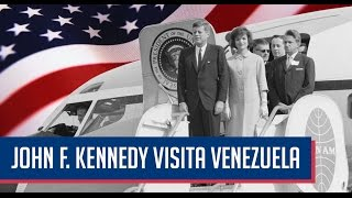 John F. Kennedy visita Venezuela (Español)