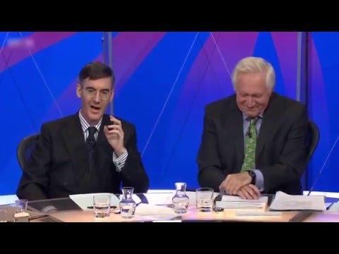Jacob Rees Mogg pwns David Dimbleby over 'Eton' jibe