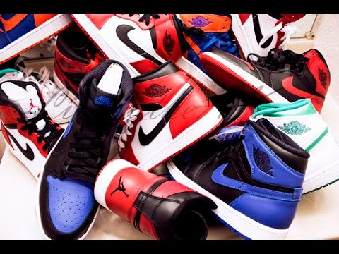 37b7b6ffba25 MY AIR JORDAN RETRO 1 SNEAKER COLLECTION! - YouTube