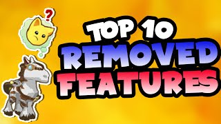 [Animal Jam] Top 10 Removed Features!