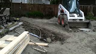 Garage Build Part 5 - Installing Proper Drainage