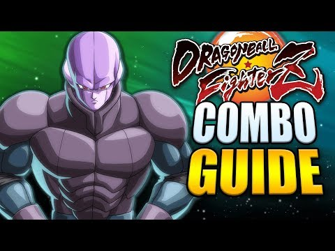 HIT Best Combos - Easy To Advanced! - Dragon Ball FighterZ