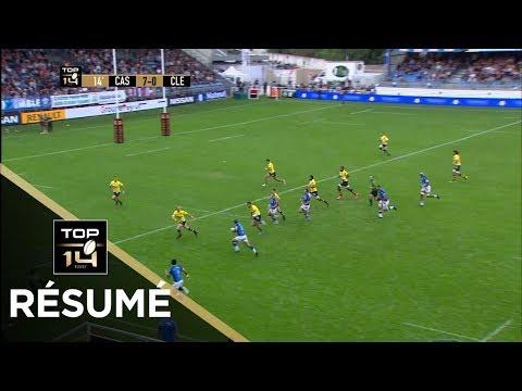 TOP 14 - Résumé Castres-Clermont: 29-23 - J6 - Saison 2017/2018