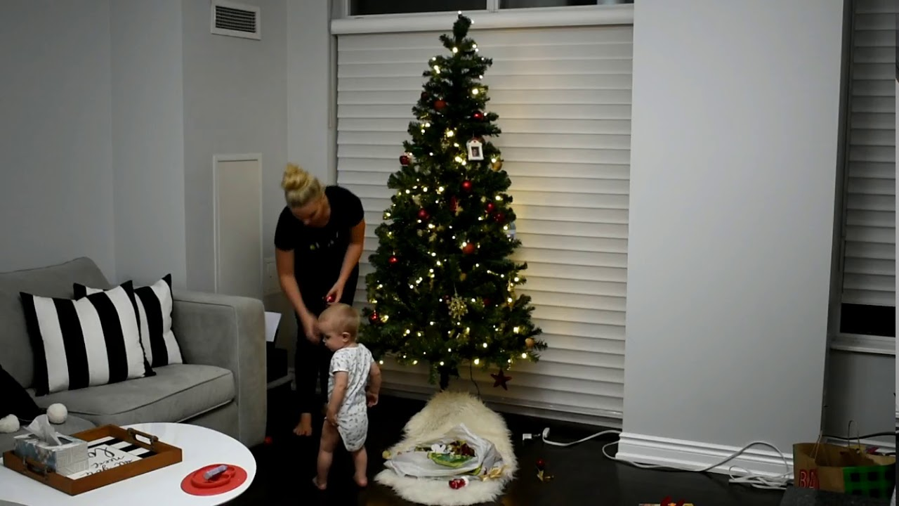 How To Make Your Fake Christmas Tree Look Real Setting Up Our Early Time Lapse