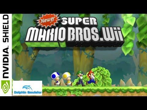 Newer Super Mario Bros (Hack) [Wii] || NVIDIA SHIELD TV
