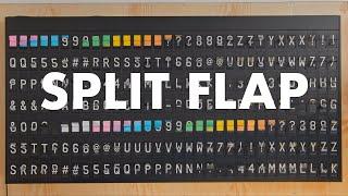 Split Flap Display by Oat Foundry | Old School Departures Boards screenshot 2