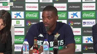 Presentación de William Carvalho como nuevo jugador del Real Betis Balompié