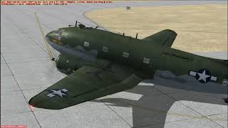 Flight Sim Historian Episode 186: Curtiss C-46 Commando (FSX:SE)