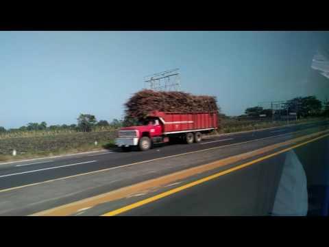 Driving through La Antigua, Veracruz, Mexico, 2017-01-26