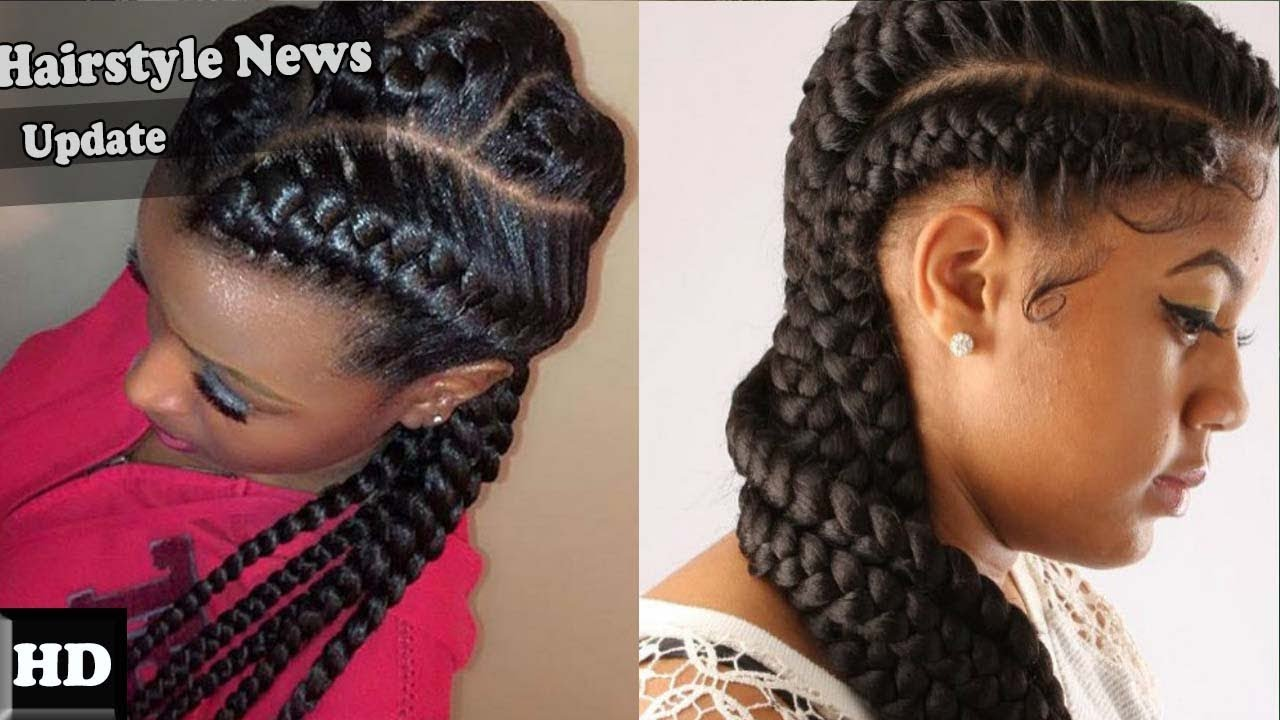 Hairstyles Braids Youtube: WOW AMAZING!!! Cool African Braids Hairstyles 2017