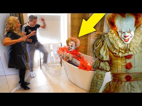 I Pranked my Family's Hotel Room For 24 HOURS!! *CREEPY*