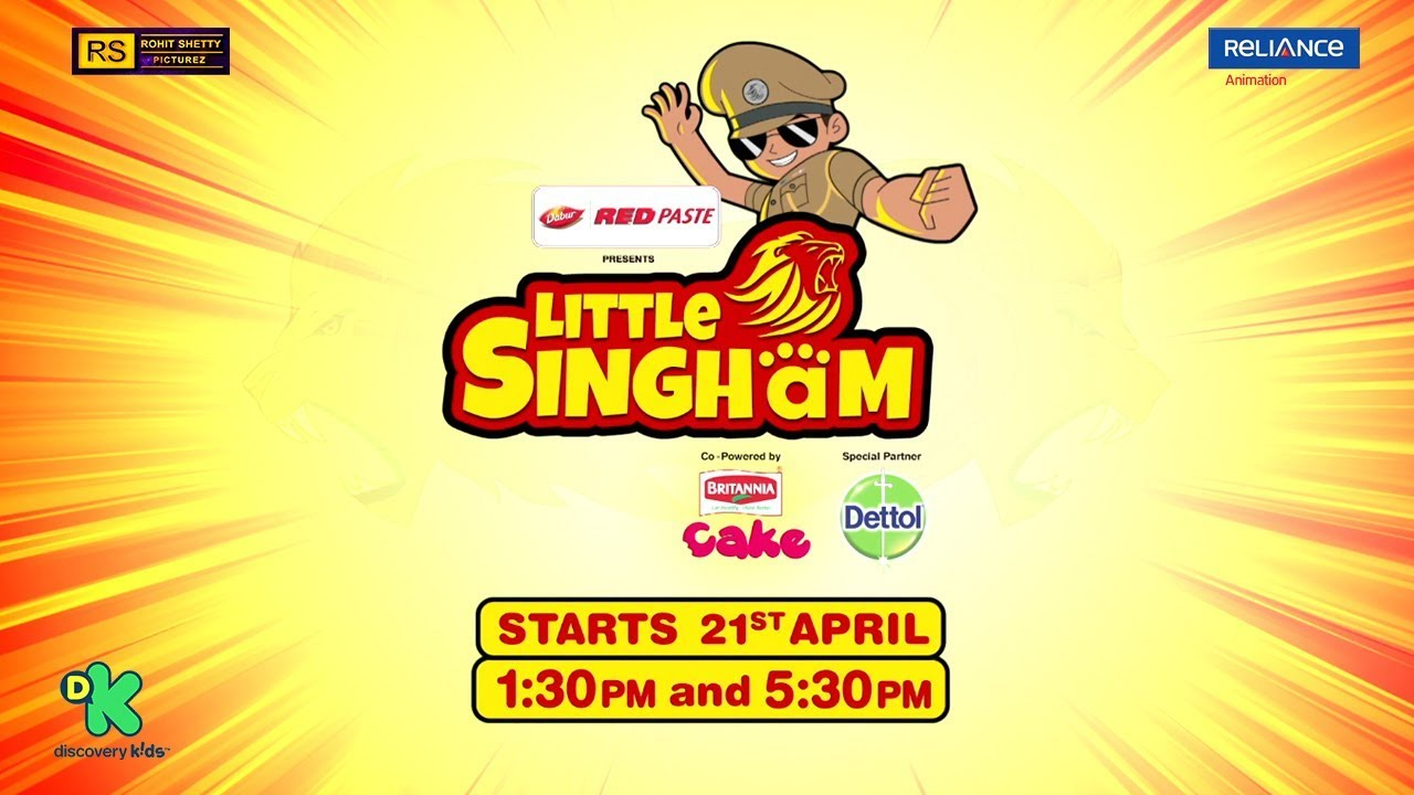 Little Singham Official Song Police Ki Vardi Sher Ka Dum Kids