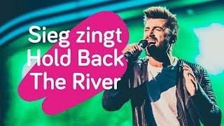 Sieg De Doncker maakt indruk met Hold Back The River
