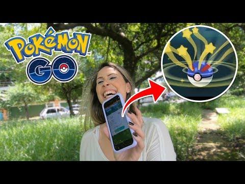 DRE INVADIU O CANAL E FEZ UM GAMEPLAY SOZINHA -  Pokémon Go thumbnail
