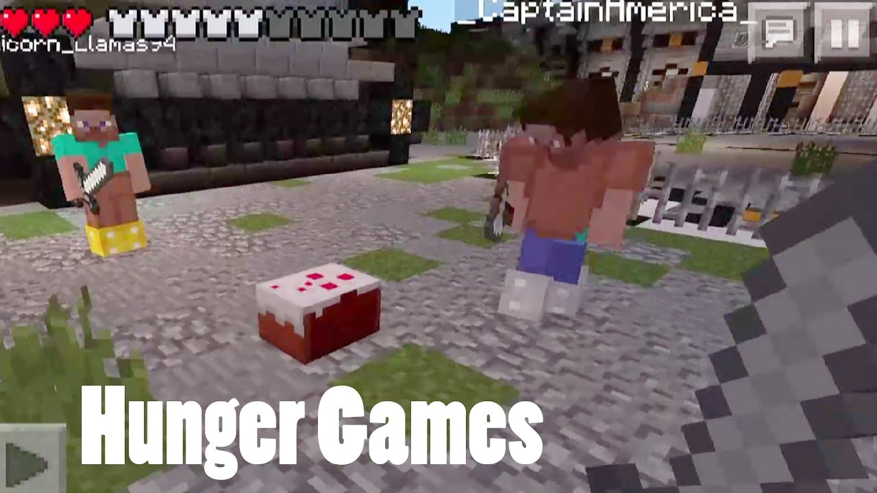 minecraft hunger games against all odds part 3