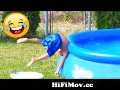 Videos De Risa 2021 nuevos  Videos Graciosos Para Nios  Beb chistosos jugando piscina