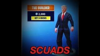 PLAYING IN SCUADS TEAM ZTE FORTNITE live direct Espagnol gratuit Ps4! !