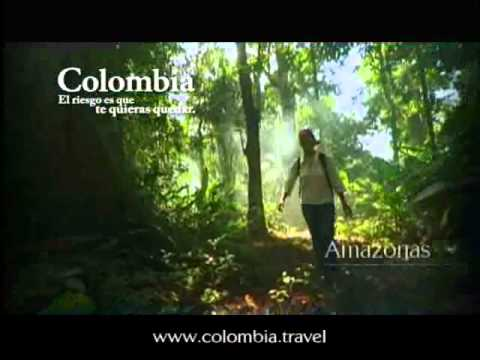Colombia, the only risk is wanting to stay.  Video country