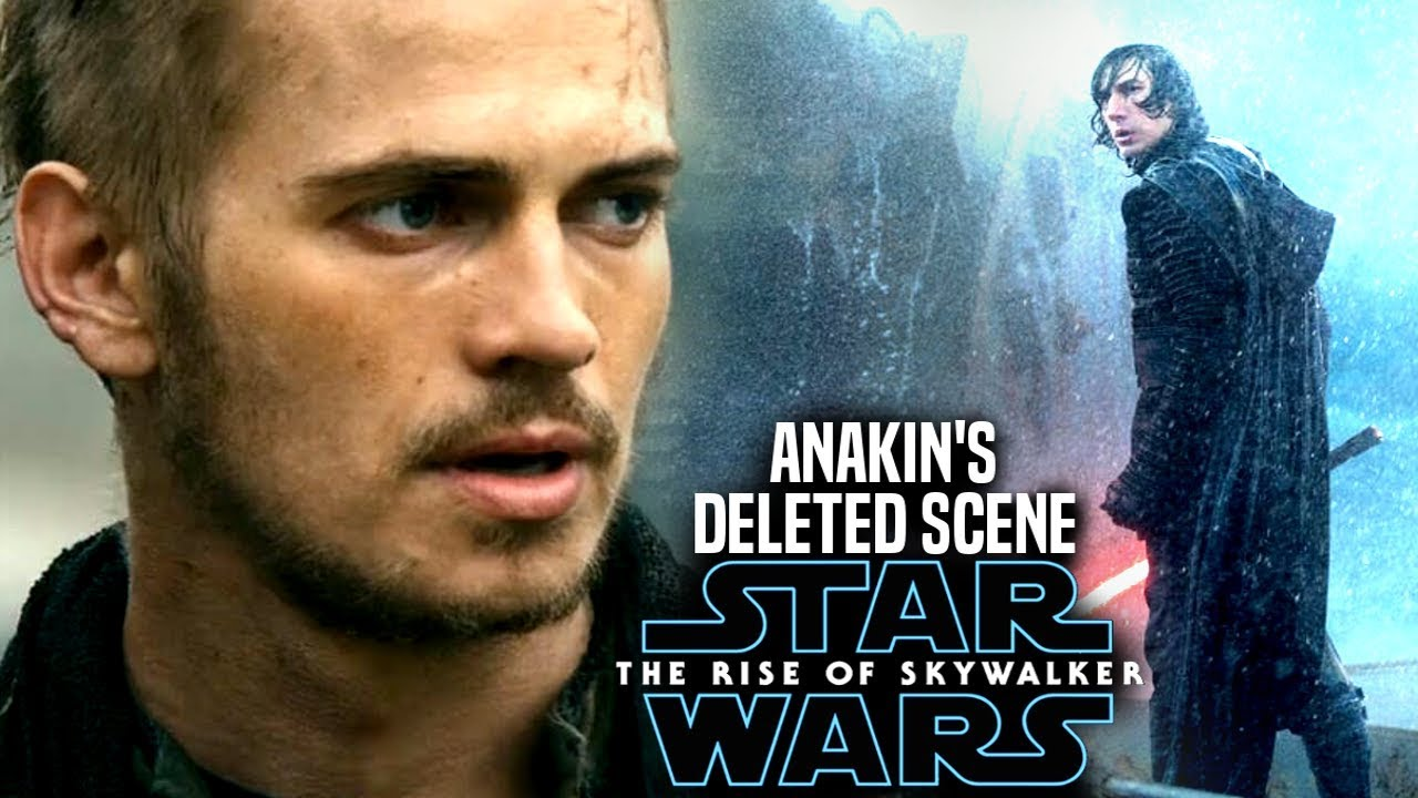 The Rise Of Skywalker Anakin Deleted Scene Explained Star Wars Episode 9 Youtube