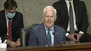 Cornyn Questions Rosenstein on Comey, Steele Dossier, and Crossfire Hurricane Investigation