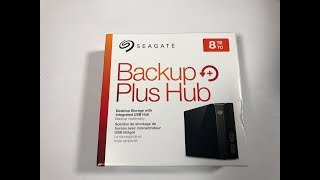Seagate Backup Hub Plus 8TB for Xbox One X