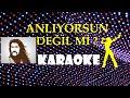 Barış Manço - Anlıyorsun Değil mi - Karaoke - Full HD