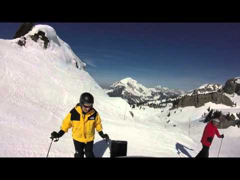 22nd March 2016 Chatel - Property Off Piste Skiing