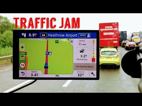 Garmin Drivesmart 61 Traffic jam information