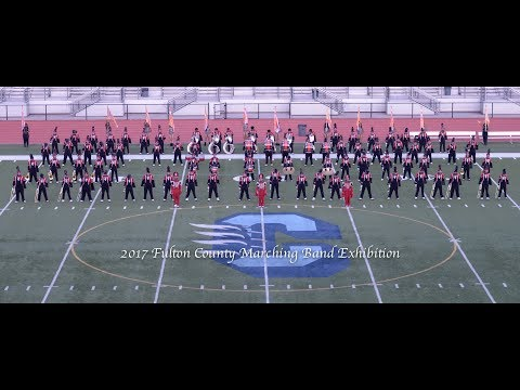 Tri Cities Marching Band 2017-2018-Fulton County Marching Exhibition.
