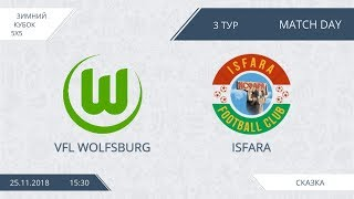 Wolfsburg 9:12 Isfara, 3 тур