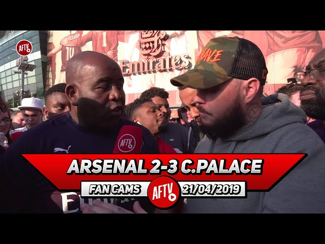 Arsenal 2-3 Crystal Palace   I Never Want To See Mustafi In An Arsenal Shirt Again!(DT Rant)
