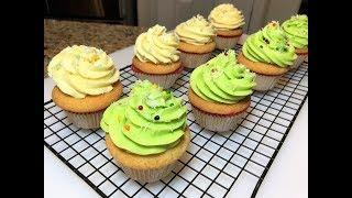 Мягкие и Нежные Американские Капкейки. Безумно вкусные! Мини- кекс. Cupcakes.