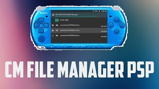 Install CMFileManager on PSP! - Best File Manager (For PSP)