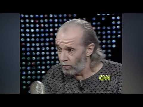 George Carlin Interview - On Comedians Who Pick On The Underdogs
