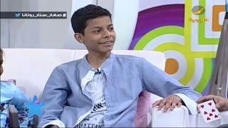 لاعب الخفة عبدالرحمن النفيسة يستعرض مهاراته أمام أطفال صغار ستار روتانا
