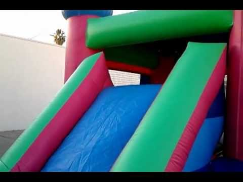 Girl Combo Jumper 4 Inflatable Rental San Gabriel Valley JJ Jumpers
