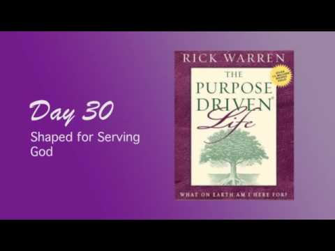 Purpose Driven Life Day 30