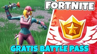 GRATIS SKINS & BATTLE PASS I FORTNITE I SÄSONG 8