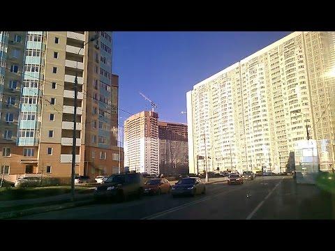 . Москва. Планерная-МКАД-Химки - Поездка на автобусе