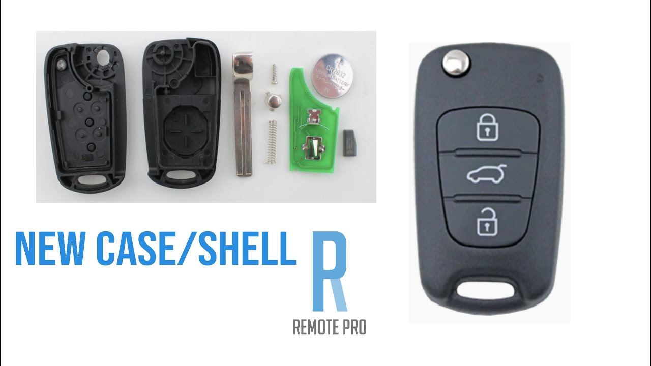 How to Open and Replace Shell of HyundaiKIA i30i20